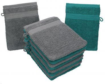 Wei/ß Basics Waschlappen aus Baumwolle 24er-Pack