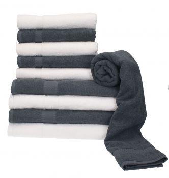 betz 10 tlg handtuch set palermo 100 baumwolle 4. Black Bedroom Furniture Sets. Home Design Ideas