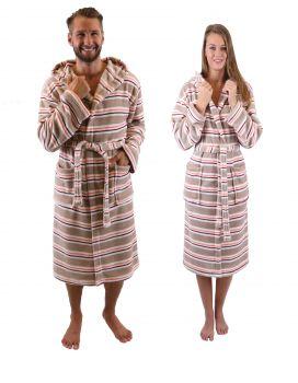 Betz Unisex Men Women Bathrobe WIEN With Hood Colour  brown Size  S M 90d4f4b7f