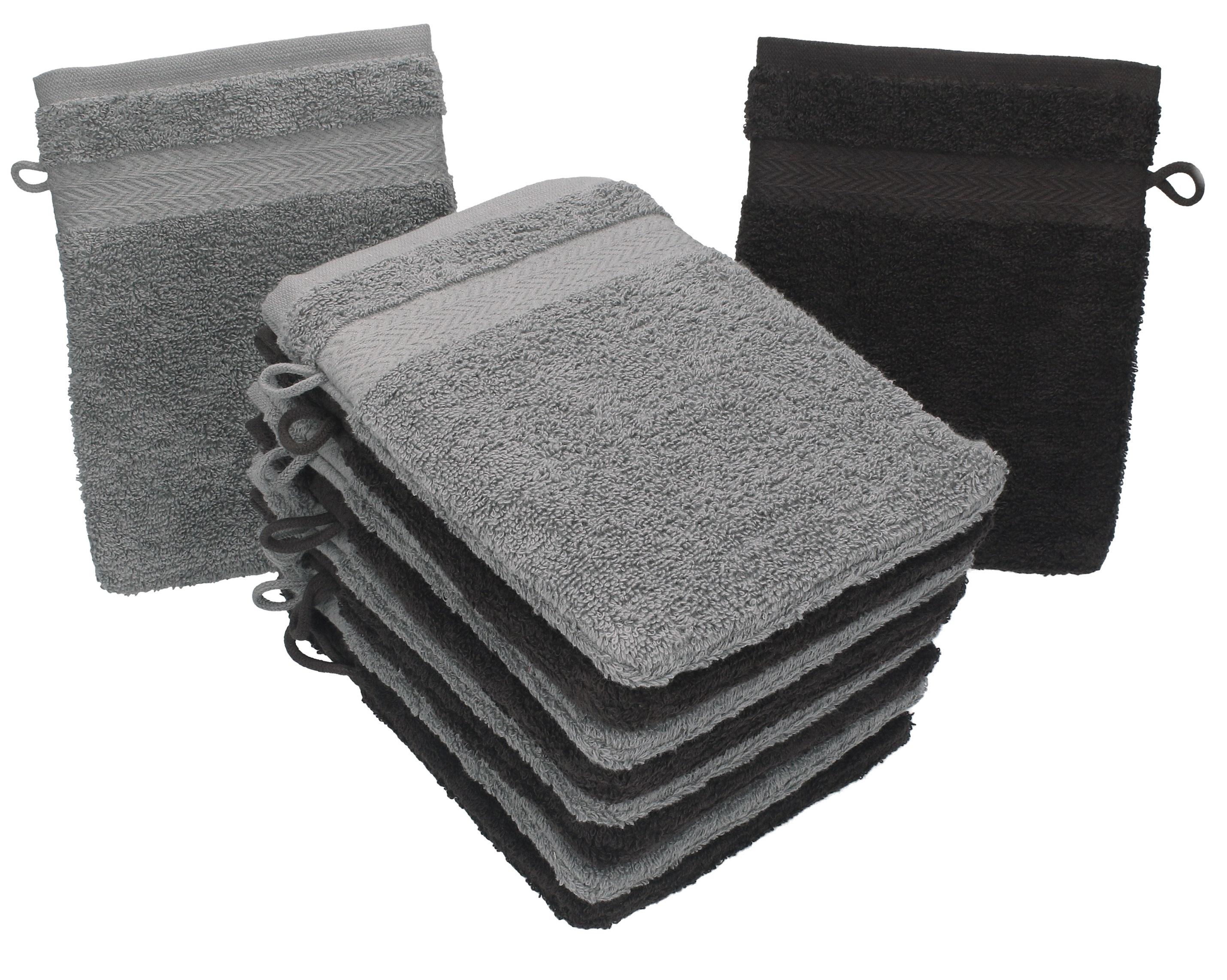 Bagno Marrone Scuro : Betz set di guanti da bagno premium misure cm cotone