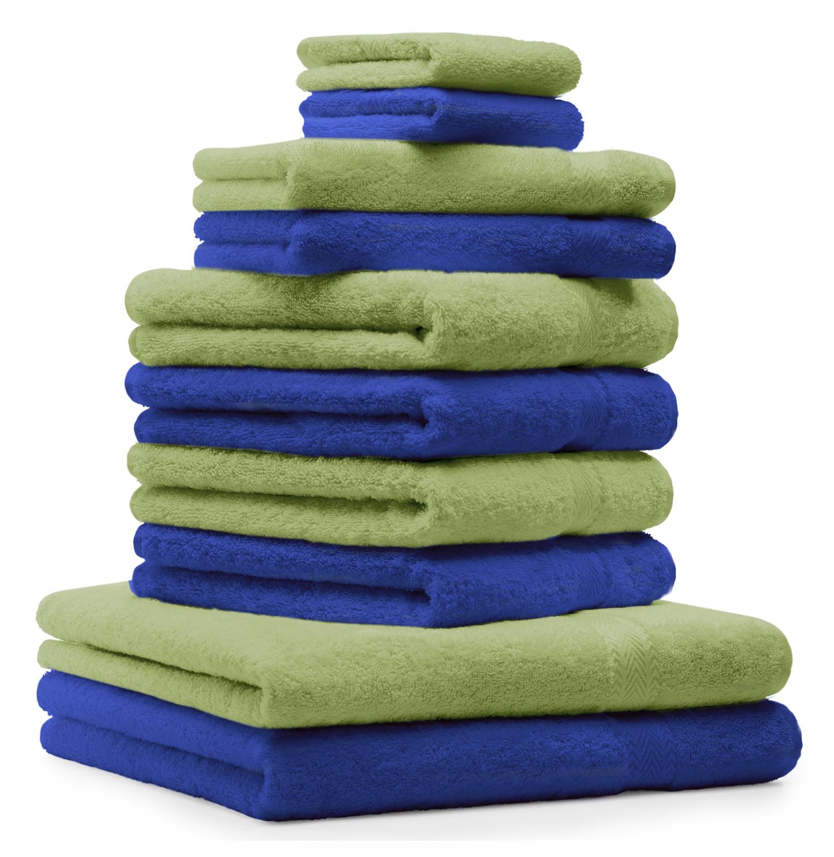 betz 10 tlg handtuch set classic 100 baumwolle 2. Black Bedroom Furniture Sets. Home Design Ideas