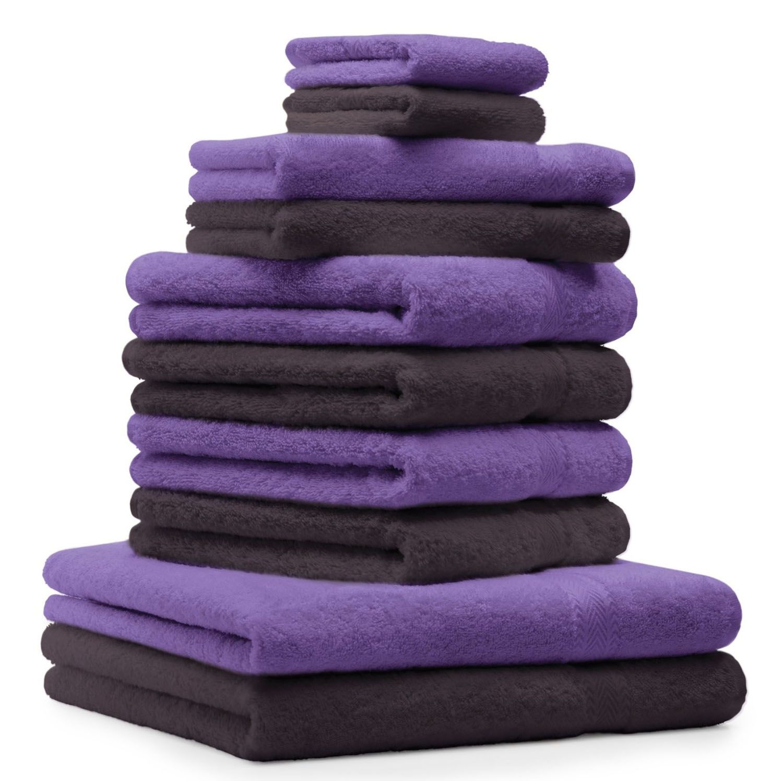 betz 10 tlg handtuch set premium 100 umwolle 2 duscht cher 4 handt cher 2 g stet cher 2. Black Bedroom Furniture Sets. Home Design Ideas