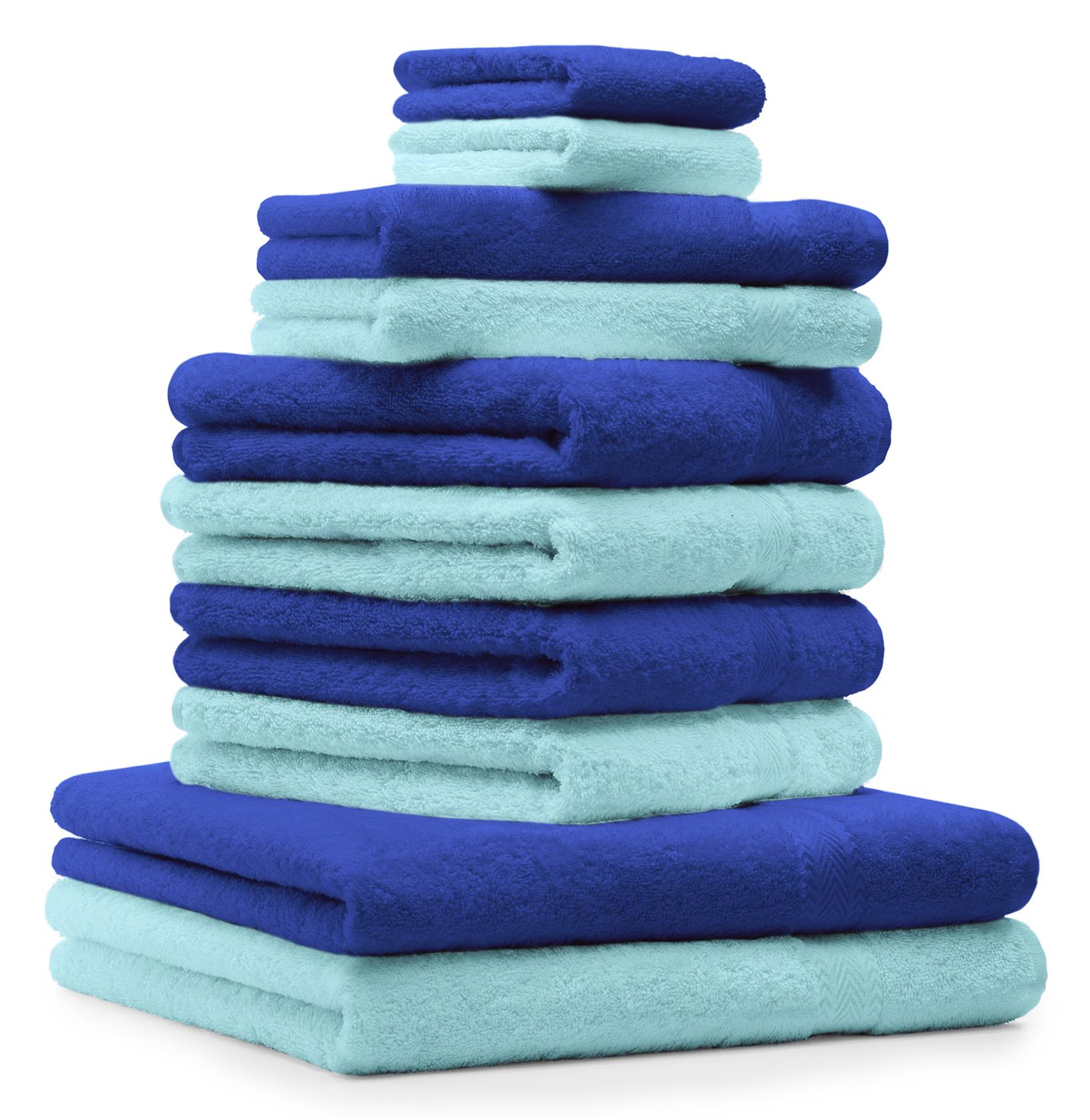 betz 10 tlg handtuch set premium 100 umwolle 2. Black Bedroom Furniture Sets. Home Design Ideas