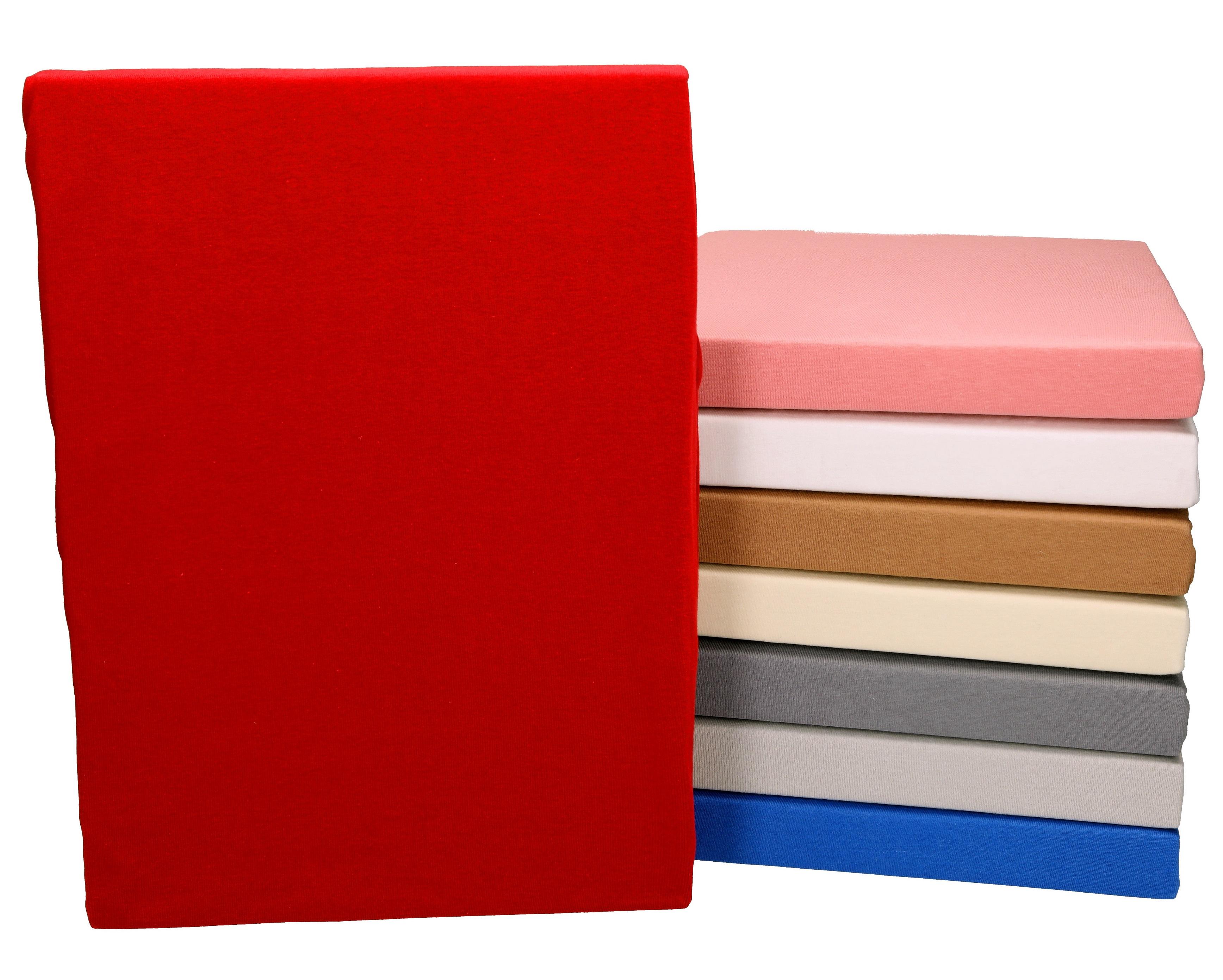 betz spannbetttuch bettlaken 100 mako jersey gr e ca 100x200 cm in verschiedene farben. Black Bedroom Furniture Sets. Home Design Ideas