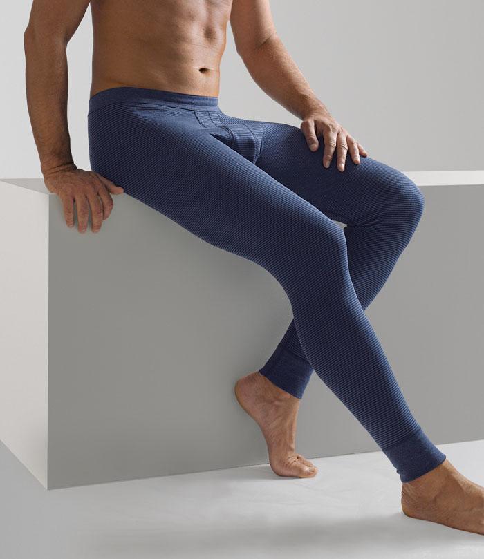 Mutande da uomo lunghe di ammann colore blu scuro le - Mutande da bagno ...