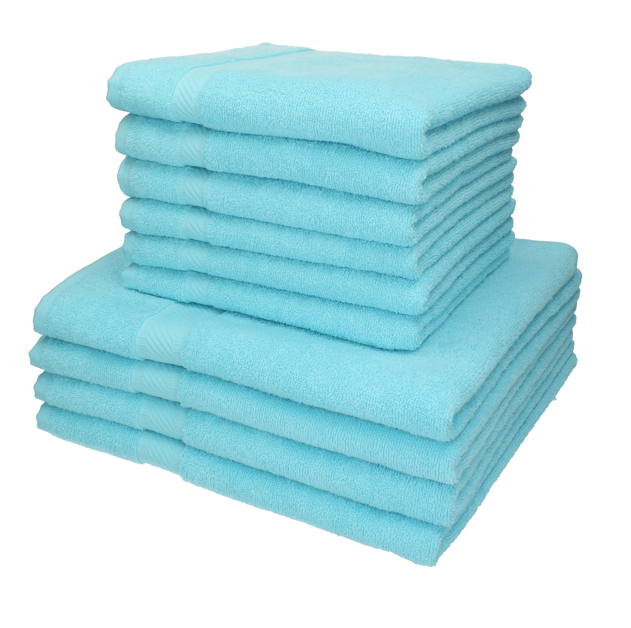 Handtuch-Set PALERMO 100/%Baumwolle verschiedene Farben Betz 12-tlg