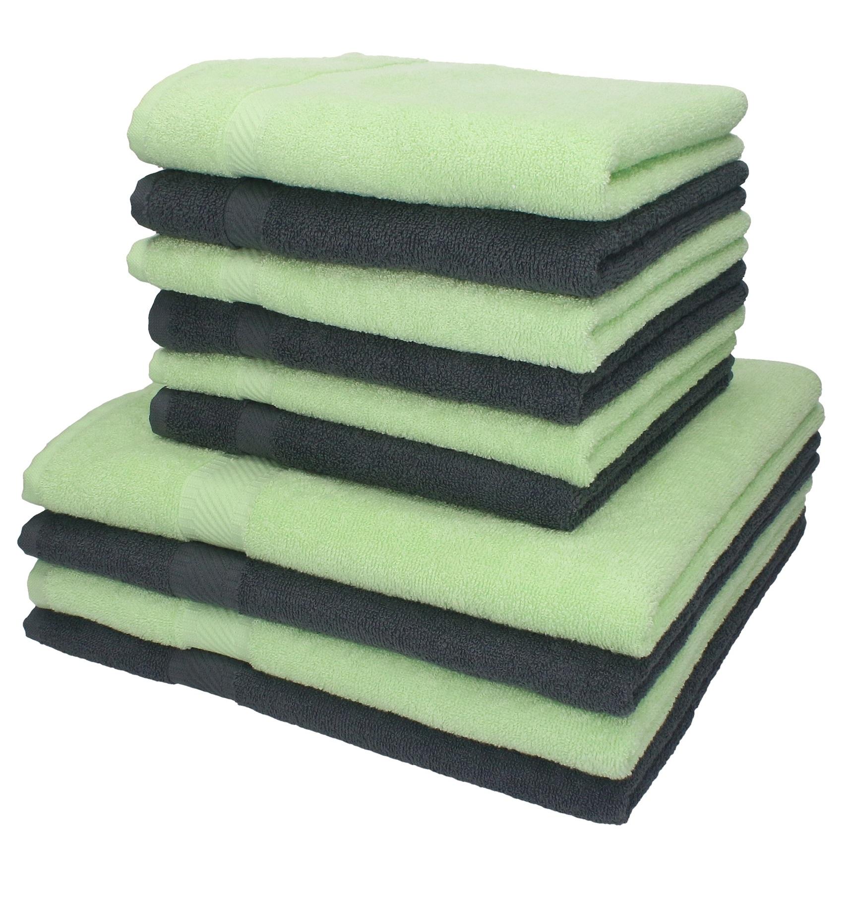 di 10 asciugamani da bagno Palermo: 6 asciugamani e 4 asciugamani ...