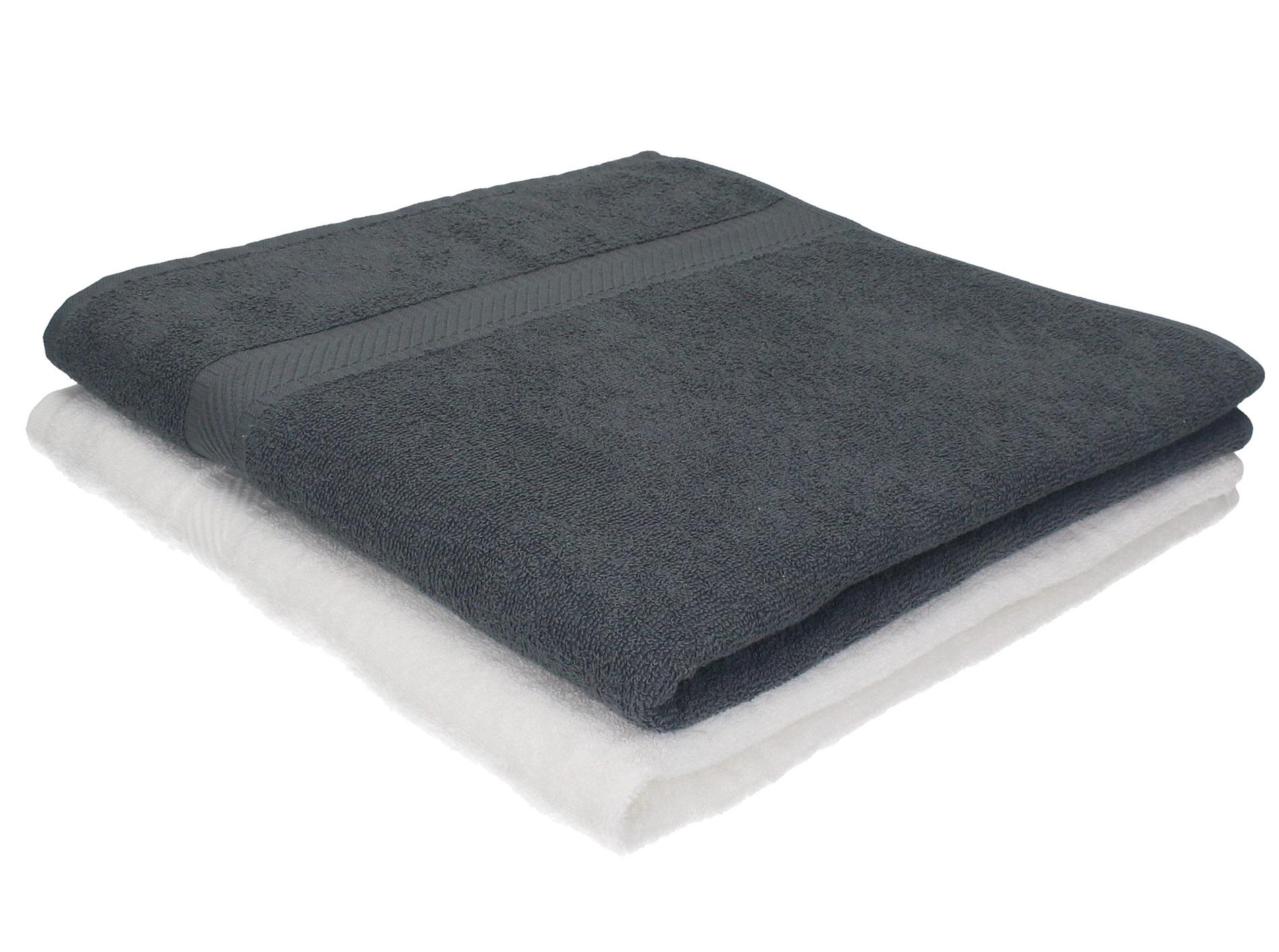 di 2 asciugamani da bagno 70 x 140 cm Palermo, 100 % cotone, colore ...