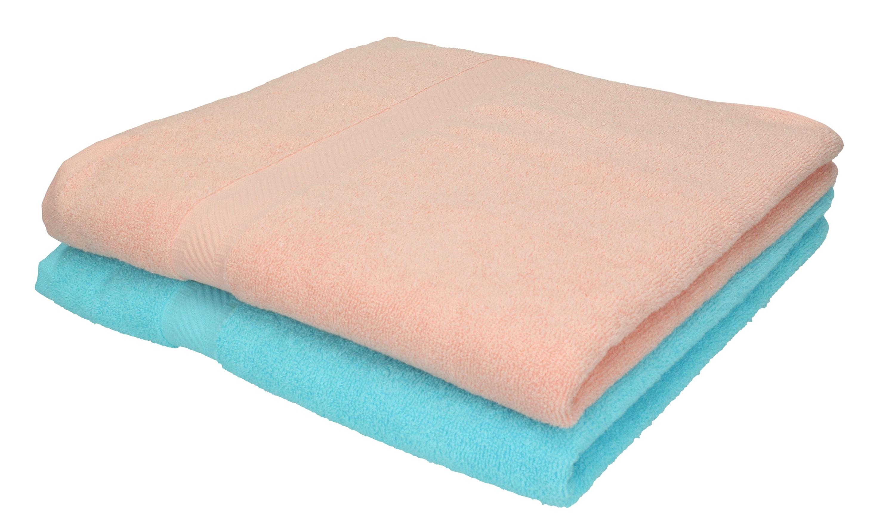 Betz 2 Stuck Duschtucher Palermo 100 Baumwolle Duschtuch Set Farbe