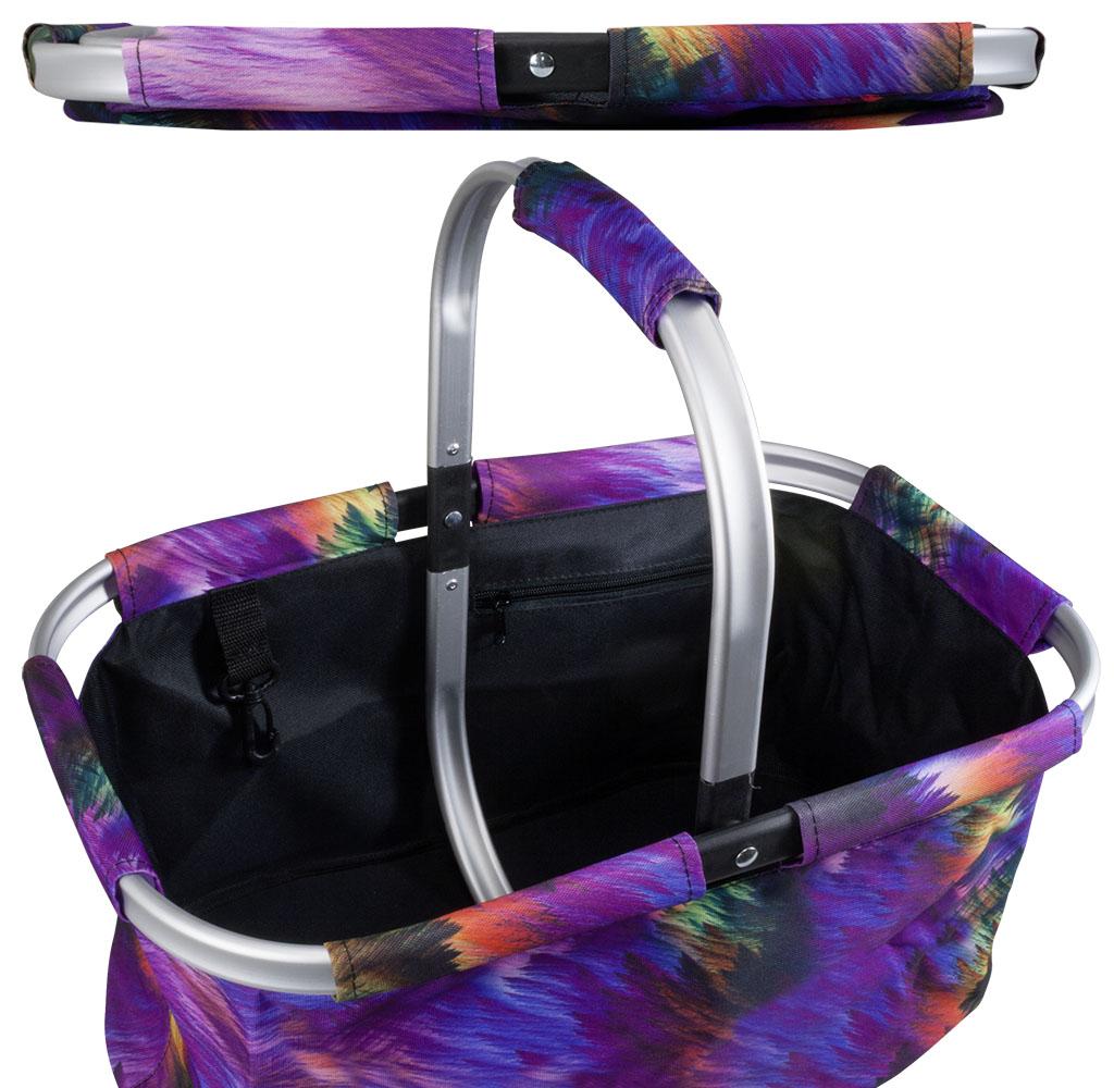 06981c42eeb9e Betz Cabas panier à provision sac pliant RIO taille  46x29x23cm couleur au  choix