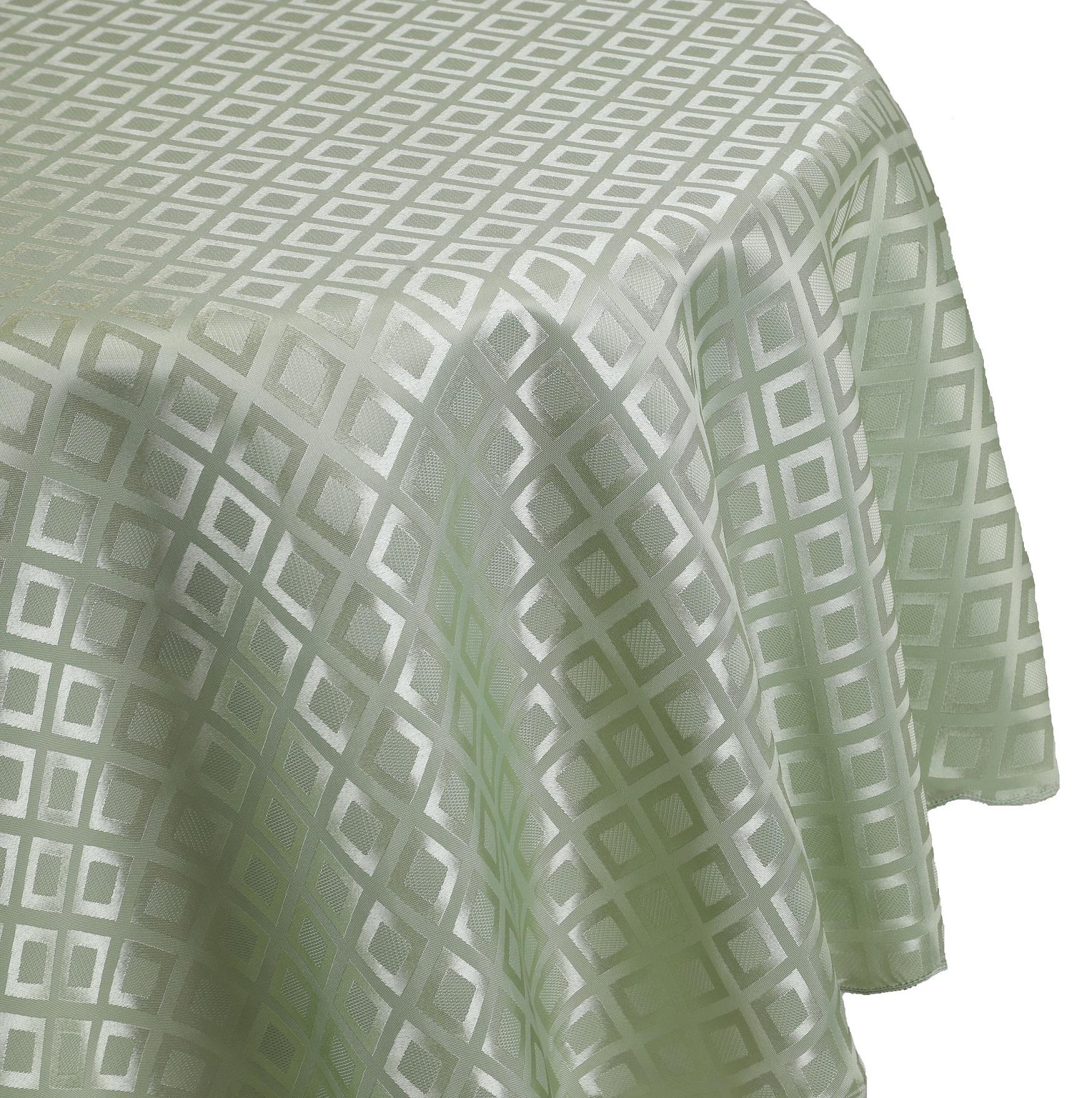 betz nappe jacquard linge de table dessin 8 couleur vert. Black Bedroom Furniture Sets. Home Design Ideas