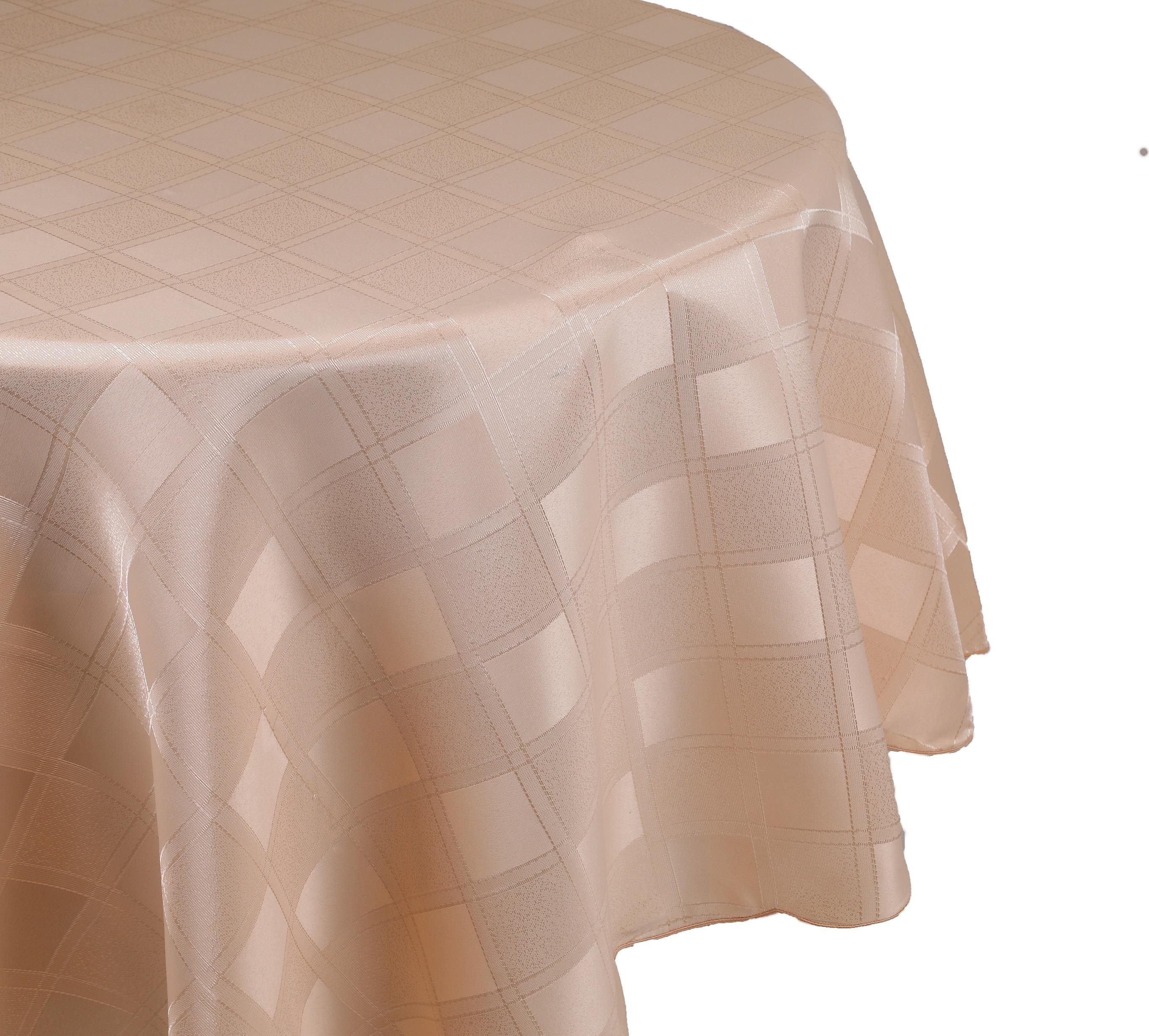 betz nappe jacquard linge de table dessin 10 couleur abricot. Black Bedroom Furniture Sets. Home Design Ideas