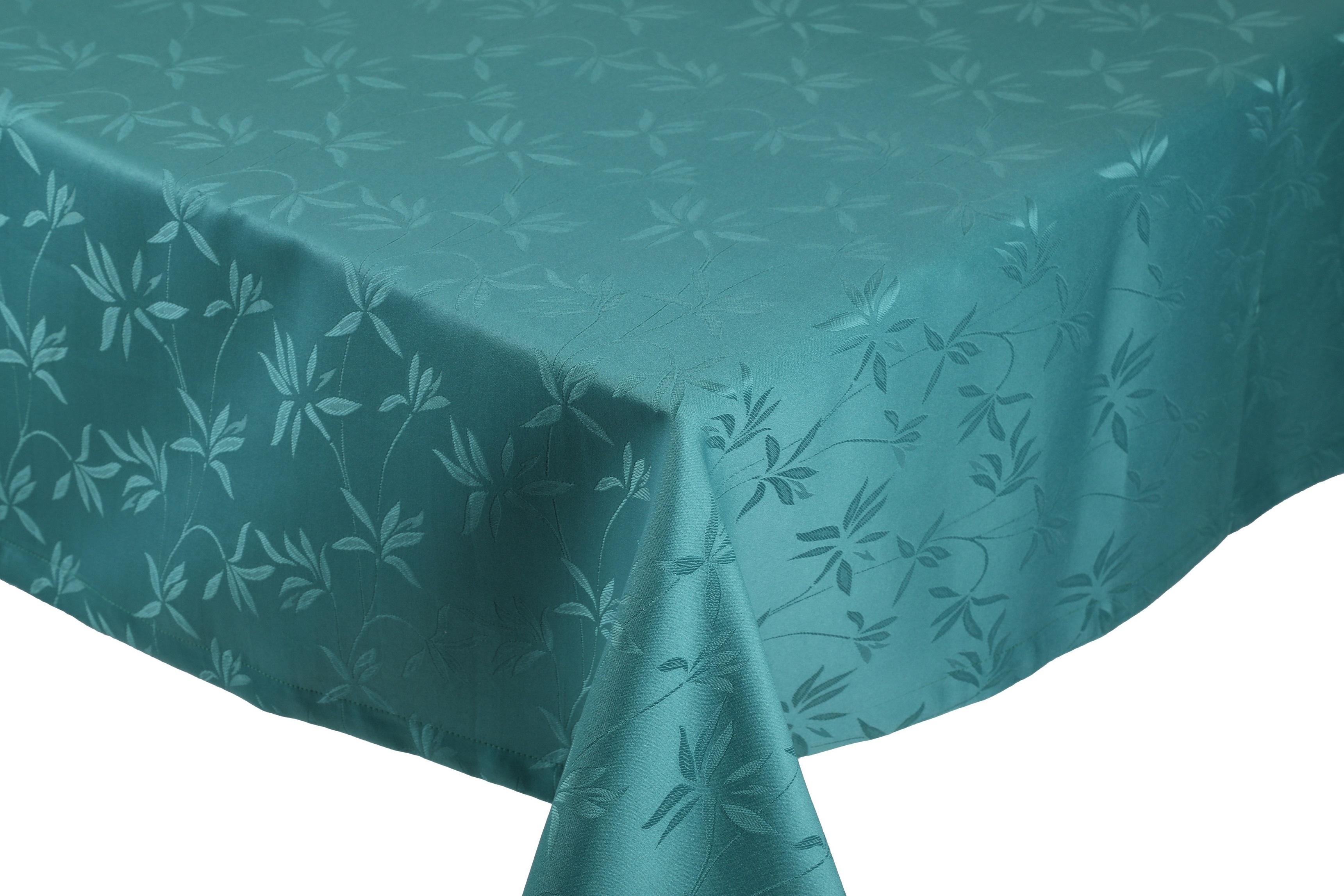 betz nappe jacquard linge de table dessin 14 couleur vert meraude. Black Bedroom Furniture Sets. Home Design Ideas