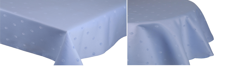 betz nappe jacquard linge de table dessin 19 couleur bleu clair. Black Bedroom Furniture Sets. Home Design Ideas