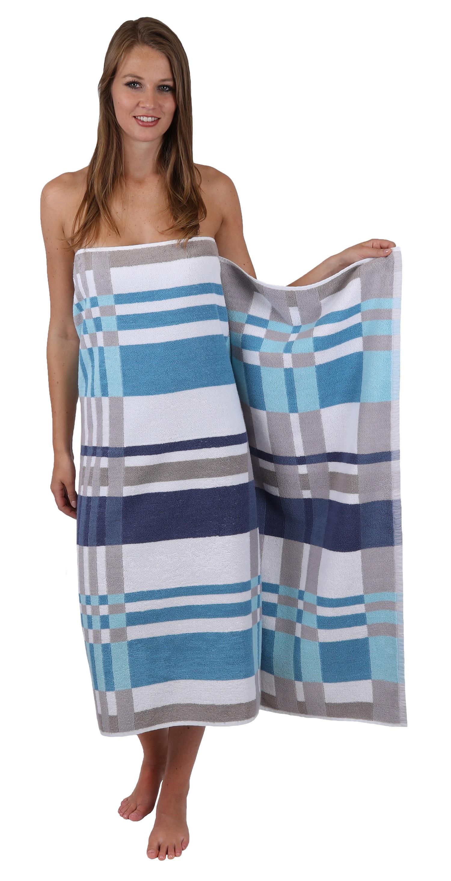 betz serviette jacquard hawai serviette de douche de plage drap de bain taille 100x150 cm. Black Bedroom Furniture Sets. Home Design Ideas
