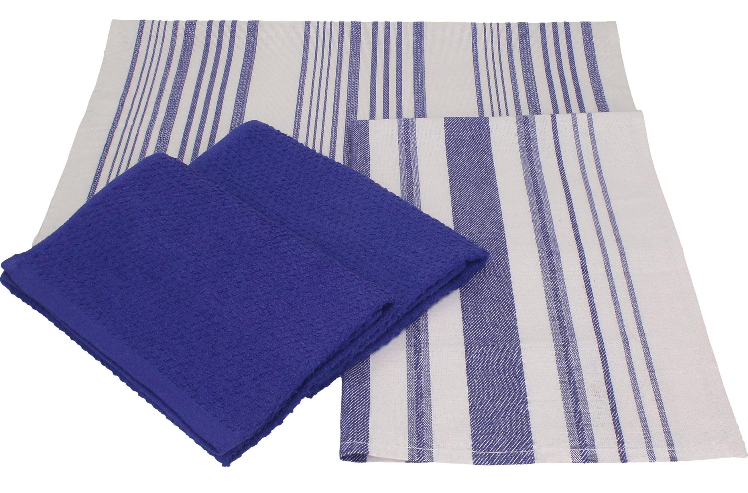 betz 4 pieces kitchen towel set denmark 100%cotton 2 kitchen towels