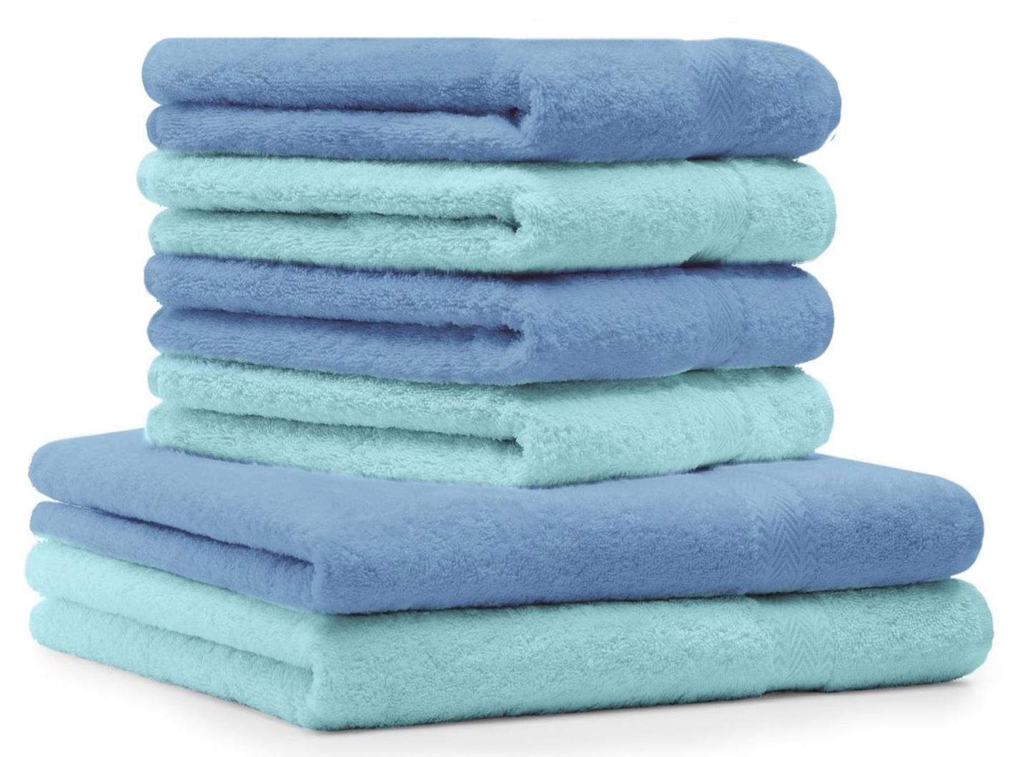 betz 6 tlg handtuch set premium 100 umwolle 2. Black Bedroom Furniture Sets. Home Design Ideas