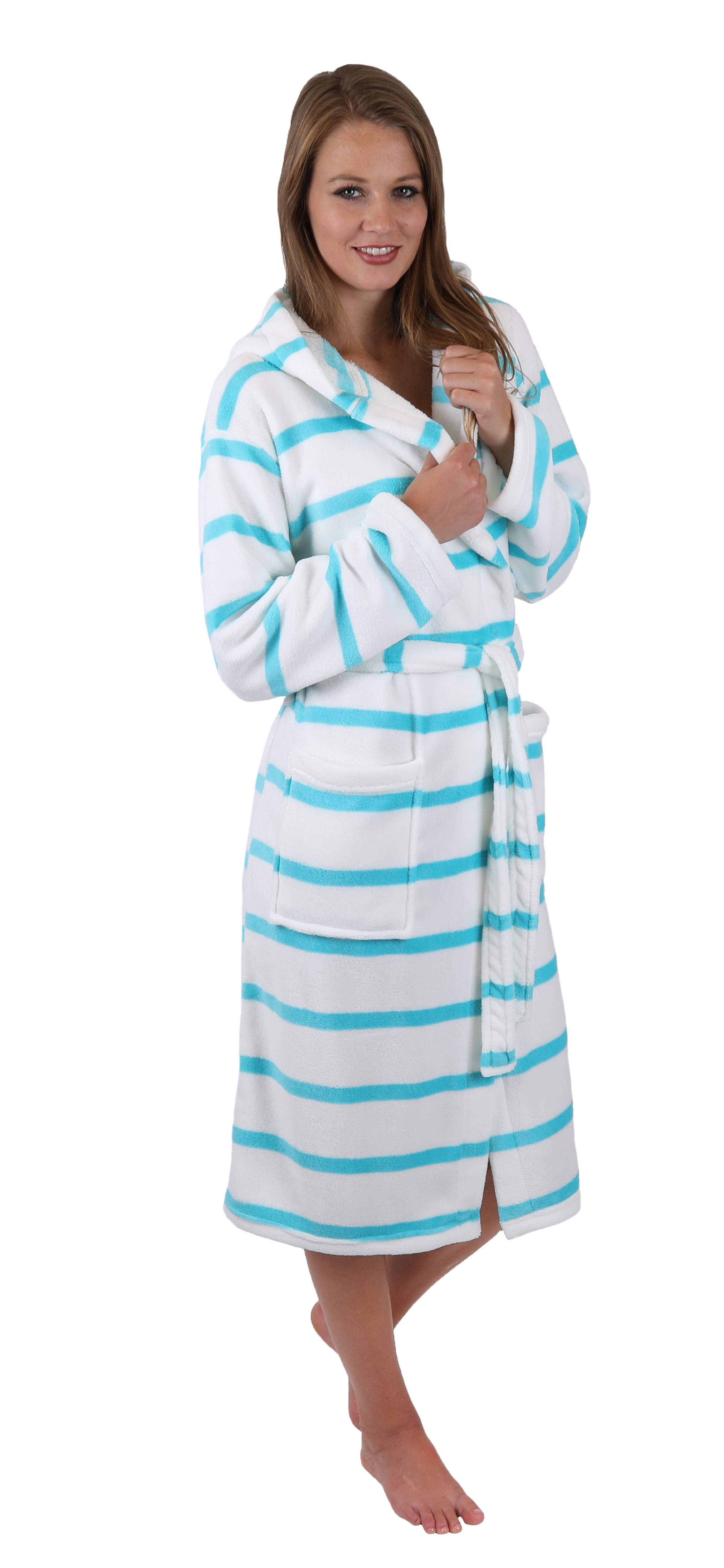 Betz microfibre bath robe MALLORCA dressing gown for Ladies and Men ...