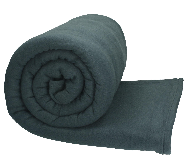 betz jumbo fleecedecke kuscheldecke in xxl gr e 220x240 cm farbe anthrazit grau. Black Bedroom Furniture Sets. Home Design Ideas