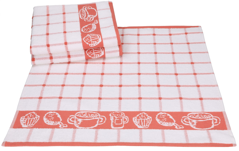 Betz 3 Pieces Kitchen Towel Set Guten Appetit I Kitchen Hand Towel