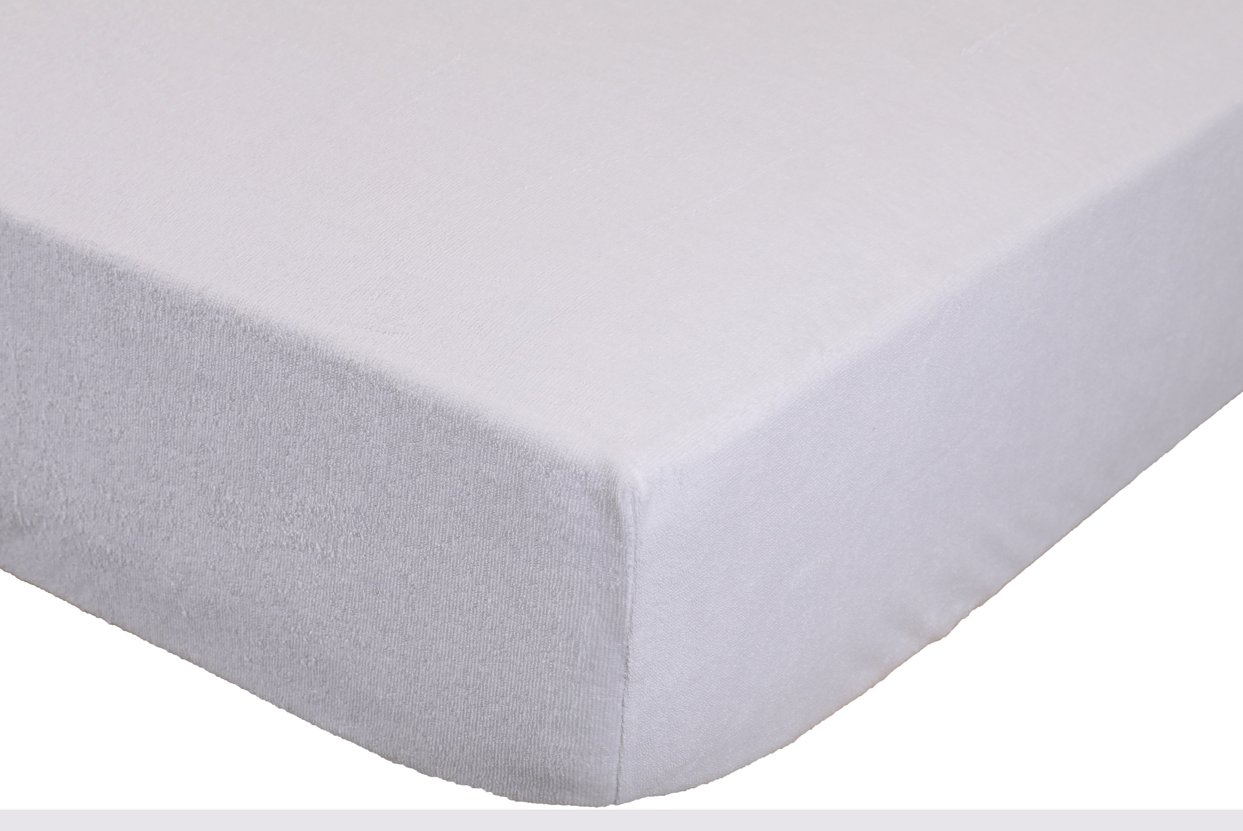 betz drap housse imperm able taille 100x200 cm coton couleur blanc. Black Bedroom Furniture Sets. Home Design Ideas