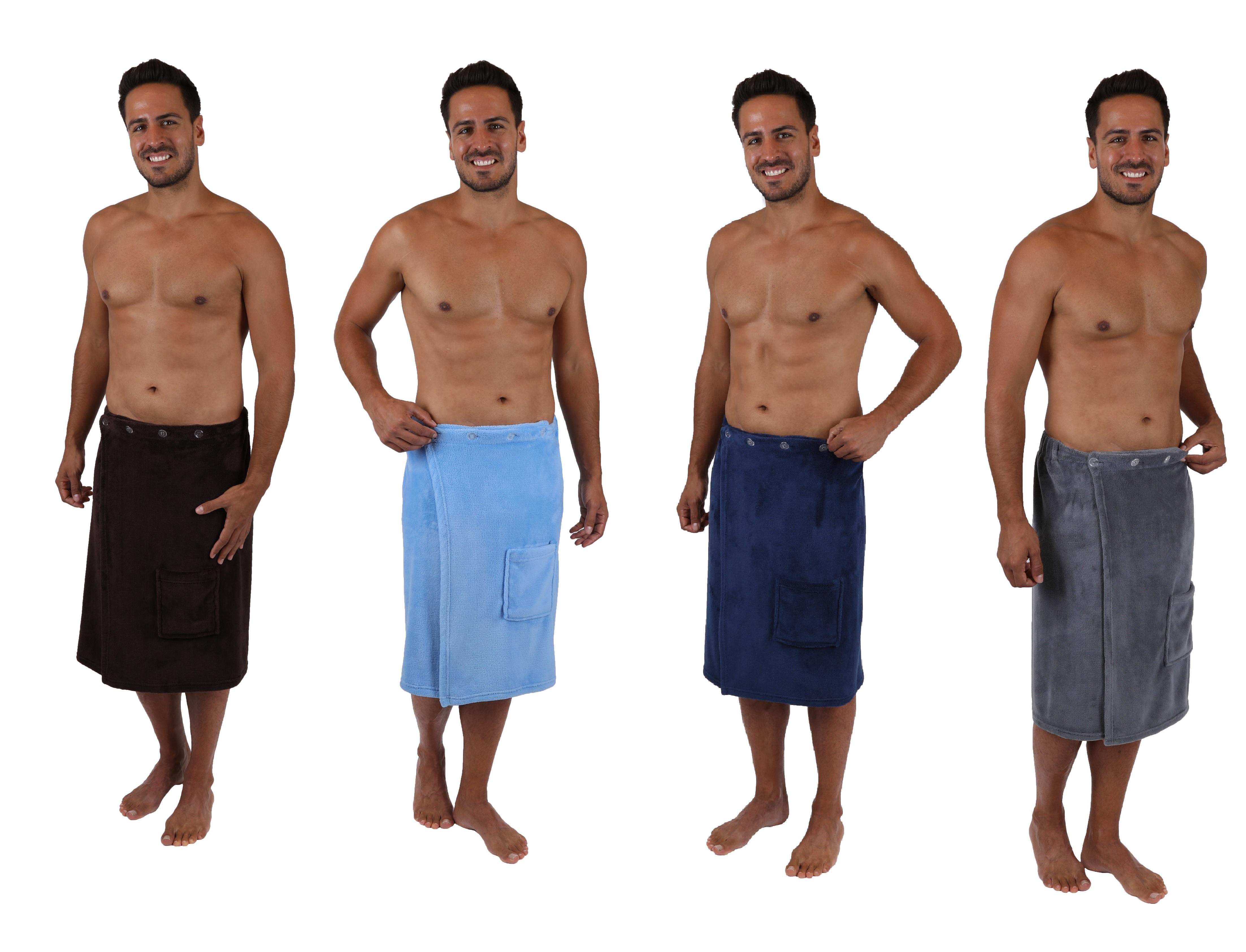 65x140 cm Colore Antracite BETZ Kilt Sauna Premium Telo Sauna Kilt Sauna in Diversi Colori Dimensioni