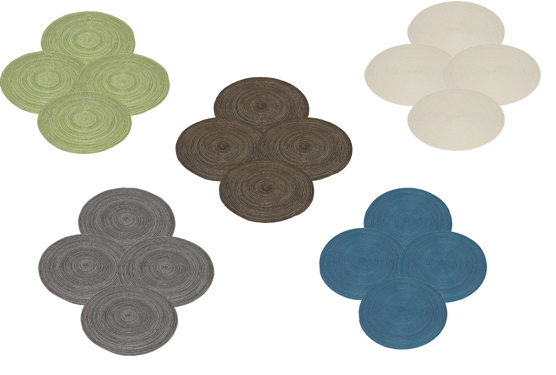 betz set de table lot de 4 pi ces lavable 100 polyester taille 40 cm plusieurs couleurs au choix. Black Bedroom Furniture Sets. Home Design Ideas