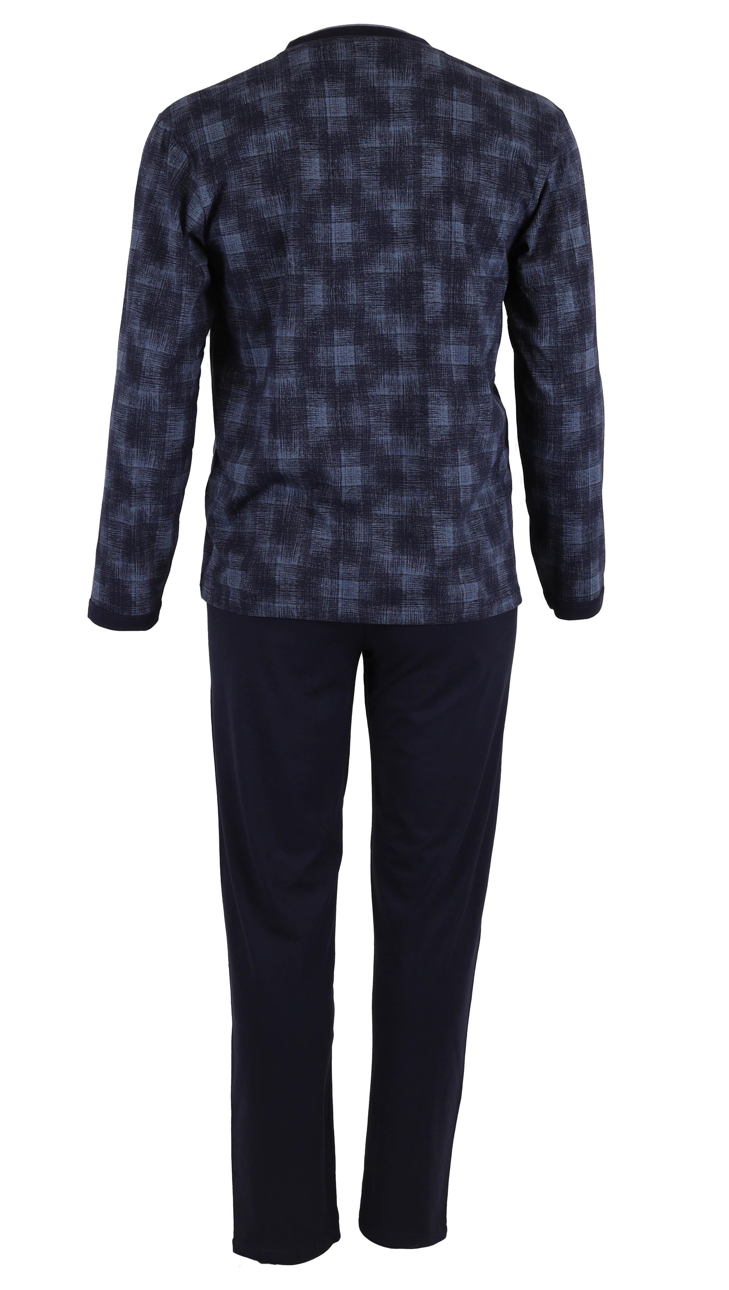 betz herren schlafanzug pyjama lang gr en 48 58 farbe. Black Bedroom Furniture Sets. Home Design Ideas