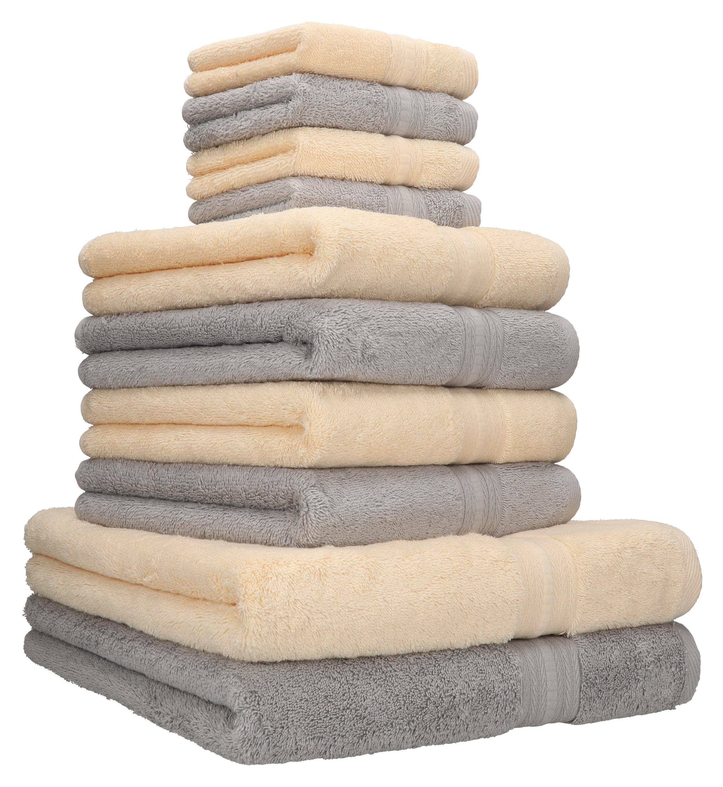 Küchentuch Geschirrtuch Küchenhandtuch Geschirhandtuch Baumwolle 2-6 Stück Set