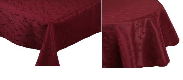 betz nappe jacquard linge de table dessin 11 couleur bordeaux. Black Bedroom Furniture Sets. Home Design Ideas