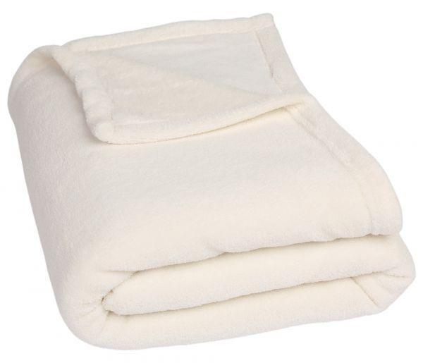betz poland coraldecke kuscheldecke picknickdecke reisedecke 140x190 cm farbe offwhite. Black Bedroom Furniture Sets. Home Design Ideas