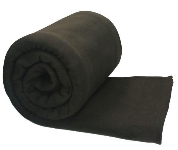 betz jumbo fleecedecke kuscheldecke in xxl gr e 220x240 cm farbe dunkel braun. Black Bedroom Furniture Sets. Home Design Ideas